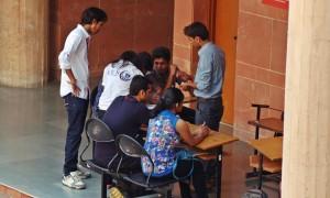 Debate Going on Between Participants